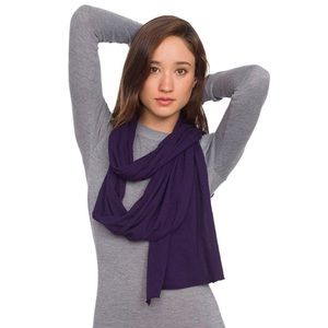 AA jersey wrap scarf